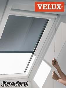original velux hitzeschutzmarkise markise mit schnurzug pg standard mal f00 5060 netz schwarz. Black Bedroom Furniture Sets. Home Design Ideas