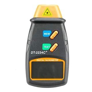 babysbreath17 DT-2234C + Foto Tachometer Digital-Tacho Auto Electric Motor Non-Contact RPM Tester Meter 1 131 * 70 * 29mm