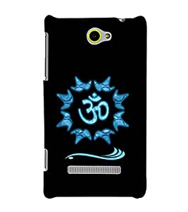 printtech Om Lord Shiva Back Case Cover for HTC Windows Phone 8S