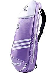 Étanche pour raquette de badminton raquette de sac sac à bandoulière sac à dos sport–Violet