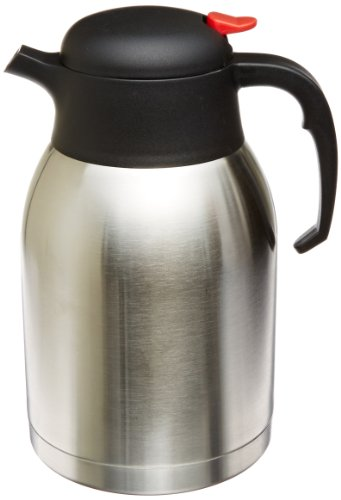 Echt Joe gjo11956Edelstahl Everyday doppelwandige Vakuum Isoliert Karaffe, 2l Kapazität -