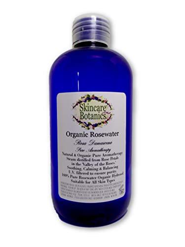 100% Orgánico & Puro Agua rosas Hidrosol - 250 ml