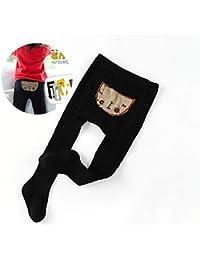 Ndier Panti Medias borda calcetines del invierno de las polainas del algodón y Pantimedias Medias Medias