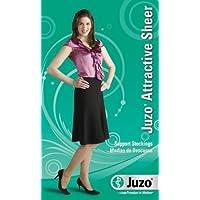 Juzo Attractive Thigh High w/ Silicone Lace Band 10-15mmHg Closed Toe, C, Cinnamon by Juzo preisvergleich bei billige-tabletten.eu