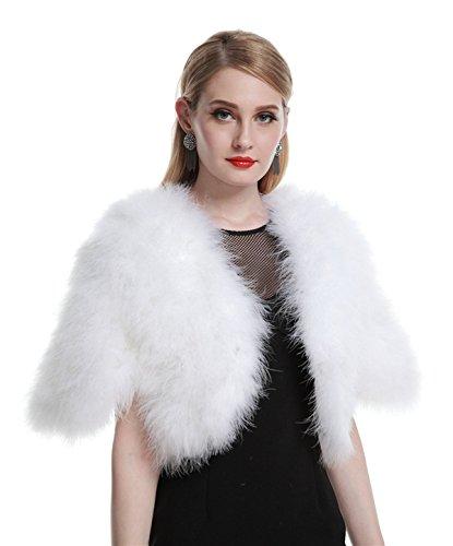 AOURI - Châle - Femme Blanc - Blanc