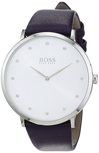 Hugo BOSS Femme Analogique Classique Quartz Montre avec Bracelet en Cuir 1502410
