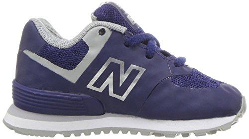 New Balance Unisex-Kinder Kl574wtg M Sneakers Blau / Grau