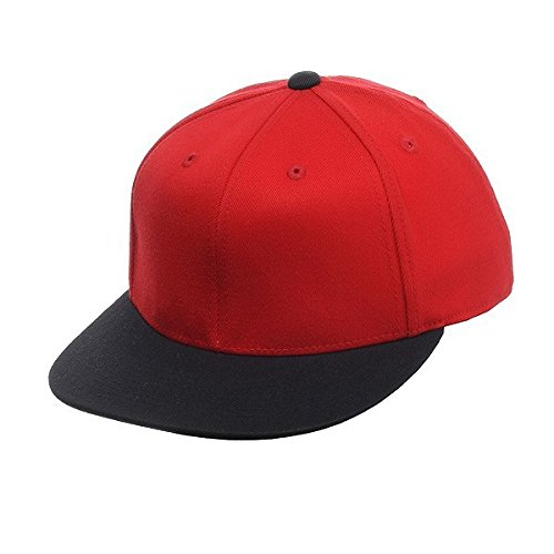 Flexfit Cap 210 Premium (L/XL, red-black) (Fit 210 Flex Cap)
