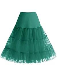 bbonlinedress Organza 50s Vintage Rockabilly Petticoat Underskirt