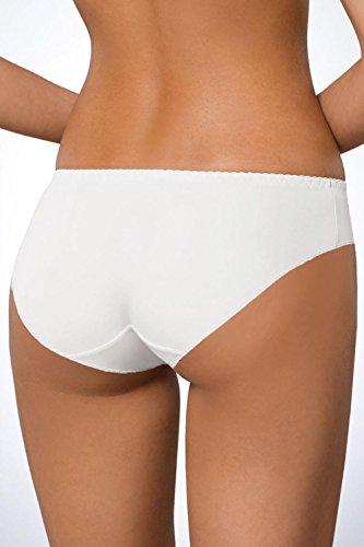Ava 146/69 Slips Damen Unterhosen Unterwäsche Glatt Setteil Top Qualität EU Weiß