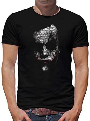 TShirt-People Joker Newsletter T-Shirt Herren M Schwarz (Marvel-comic-tank)