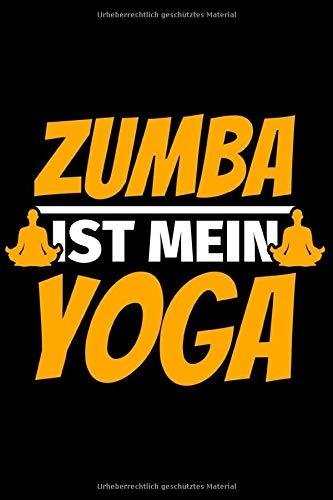 Notizbuch liniert: Zumba Geschenke lustiger Spruch Zumba