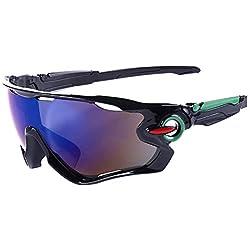 Wicemoon Gafas de Ciclismo Gafas deportivas Al Aire Libre Para Hombre Bicicleta de Bicicleta de Montaña 14.5 * 5cm