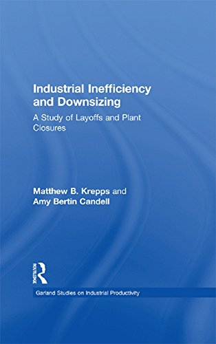 Industrial Inefficiency and Downsizing: A Study of Layoffs and Plant Closures (Studies on Industrial Productivity: Selected Works) (English Edition)