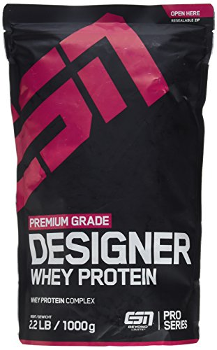 #ESN Designer Whey Protein Pro Series, Double Chocolate, 1kg Beutel#