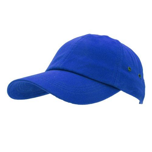 Result - Casquette 100% coton - Adulte unisexe (Taille unique) (Bleu royal)