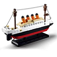 Building Blocks LEGO Bricks Movie Titanic Ship Model Cruise Boat Sink Toy Set JE0002