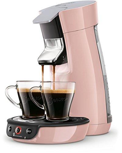 Philips Senseo Viva Café HD6563/30 Kaffeepadmaschine (Crema plus, Kaffee-Stärkeeinstellung) rosa