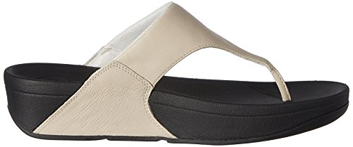 Fitflop Lulu 288, Sandales femme Blanc (Antique White)