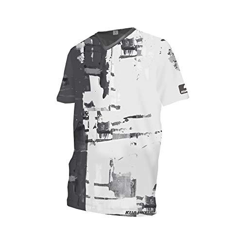 Uglyfrog Element Newest Besonderes Cooles Design MTB MX Motocross Kurz/Langarm Jersey Trikot Shirt Enduro Offroad Motorrad Cross Erwachsene Promi-Gitter Malerei Junger Stil DEHerDownMK06