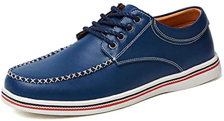 Qiusa Qiusa Qiusa Sport da Uomo Cucito da Ragazzo Outdoor blu Fashion scarpe da ginnastica UK 7.5 (Coloreee   -, Dimensione   -) | Up-to-date Stile  | Scolaro/Signora Scarpa  f63b41