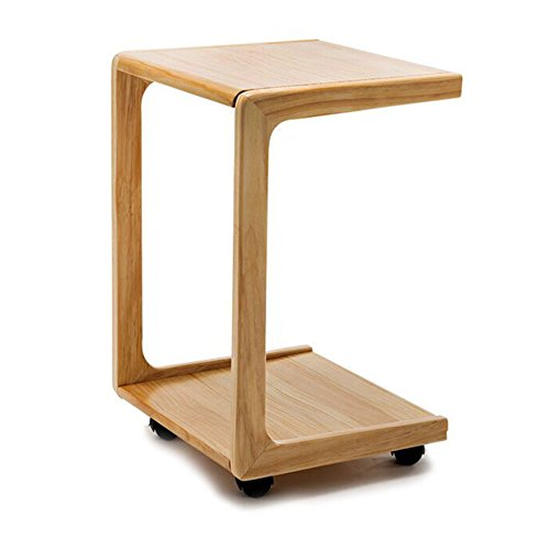 Lapdesks TH Multifunktions-Ecktisch auf Dem Sofa Abnehmbare Holz Schlafzimmer Nachttisch Wohnzimmer Ecktisch (Farbe : Protokollfarbe)