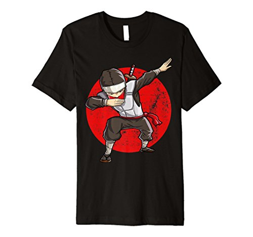 Sanftes Ninja T Shirt DAB Assassin Martial Art -