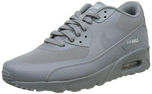 Nike Herren Air Max 90 Ultra 2.0 Essential Laufschuhe, Bianco, Grau (Cool Grey/Cool Grey/Cool Grey/Wolf Grey), 41 EU