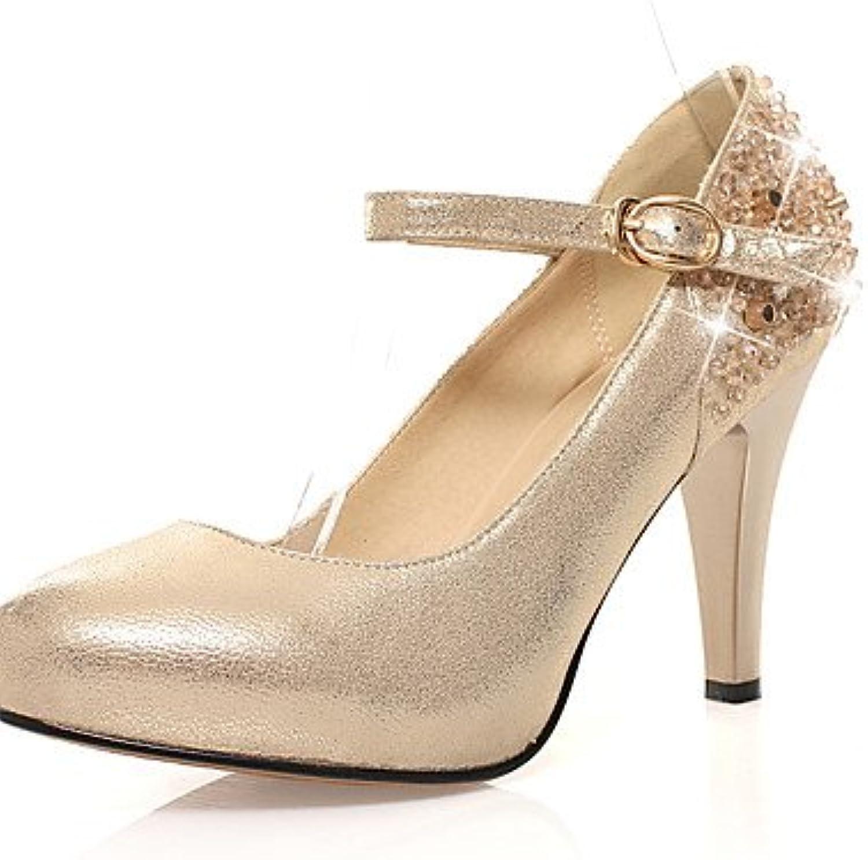 GGX/ Zapatos de mujer-Tacón Stiletto-Tacones / Innovador / Talón Descubierto / Gladiador / Estilos / Punta Redonda...