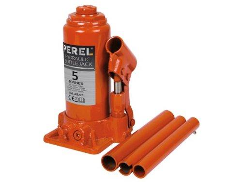 PEREL - ABJ5T Hydraulischer Wagenheber, 5 Ton Tragkraft (4-er pack) 139873