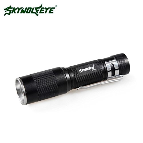 HARRYSTORE 4000LM Zoomable LED 3 Modus Fackel Super helle helle Lampen Taschenlampe Super Helle Led Keychain
