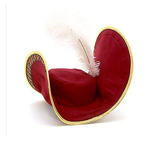Offizielle Disney Peter Pan Kapitän Hooks Kostüm-Hut für -