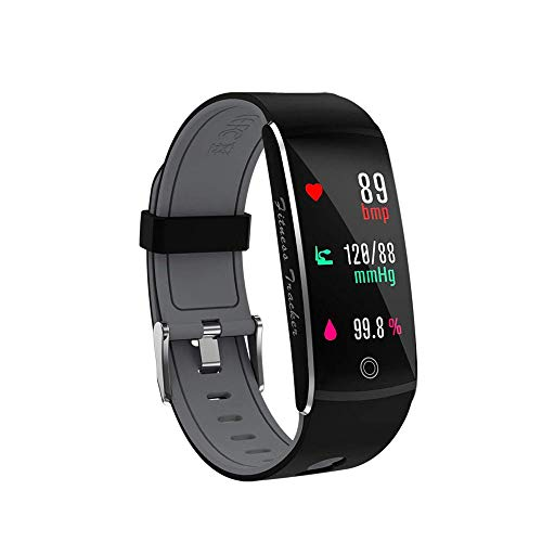 Fitness Tracker, Smart Watch 4 modalità Sport, cardiofrequenzimetro IP67 impermeabile Activity Tracker, Sleep & Blood Pressure Oxygen monitor, contatore calorie/Smart Wristband per iOS Android