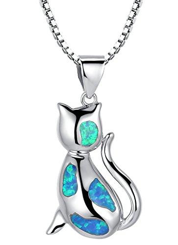 arco-iris-jewelry-colgante-de-collar-de-la-mujer-de-plata-de-ley-con-azul-y-verde-palo-de-fuego-gato