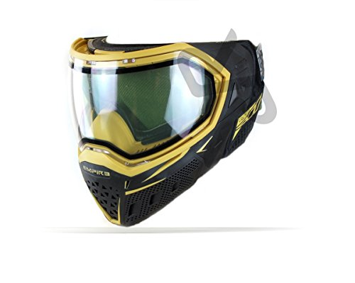 Empire EVS Paintball Maske - black/gold (Thermal Paintball-objektiv)