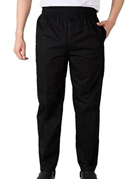 [Patrocinado]Trabaja Pantalones de Chef Negro