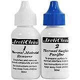 Arctic Silver Kit de Nettoyage pour Refroidisseur de processeur, 30 ML