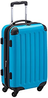 HAUPTSTADTKOFFER - Alex- Carry on luggage On-Board Suitcase Bag Hardside Spinner Trolley 4 Wheel Expandable, 55cm, cyanblue (B0056GO3C4) | Amazon price tracker / tracking, Amazon price history charts, Amazon price watches, Amazon price drop alerts