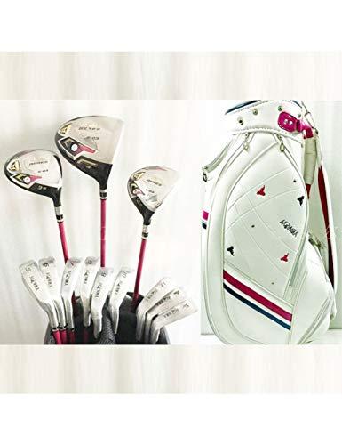 HDPP Golfschläger Neue Damen Golfschläger S-03 Golf Kompletter Schlägersatz Fahrer + Fairwayholz + Tasche Graphit Golfschaft Und Headcover -