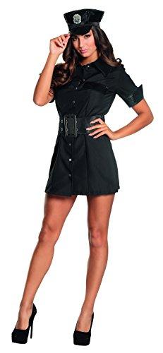 Boland 83549 - Poliziotta Sexy Costume Donna, Blu, M (40/42)