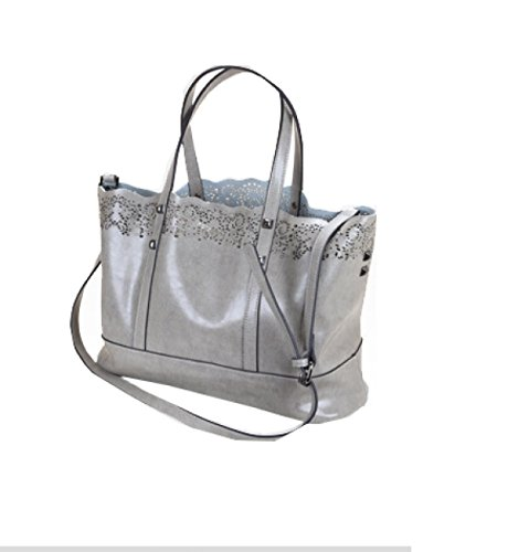 PACK Madre Di Tendenza Invernale Selvaggia In Pelle Di Cuoio Pelle Retrò Borsa A Spalla,E:RoseRedCrossSection A:LightGrayCrossSection