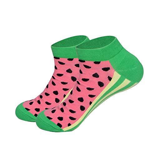 WLQXDD Spezielle Geschenksocken Wassermelonen-Astronauten-Mais-Bier-Würstchen-Mann-Socken-Sommer-Frühlings-Boots-Socken-Neuheit-Bunte Qualitäts-Baumwollsocken