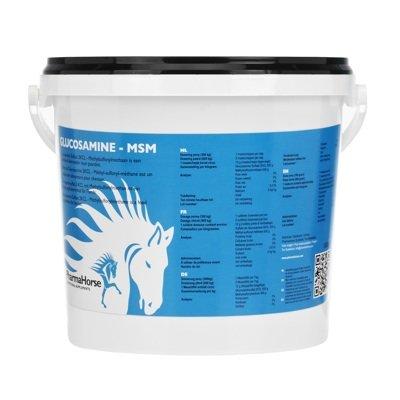Gesundheit Glucosamin (PharmaHorse Glucosamin & MSM Pferd 1000 Gramm)