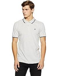 Ruggers Men's Solid Regular Fit T-Shirt
