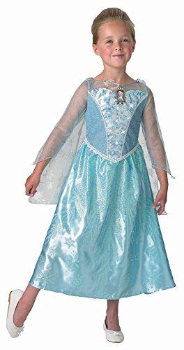 inder Kostüm Prinzessin Elsa Light Up Gr.S(3-4J.) (Disney Halloween-musik Für Kinder)