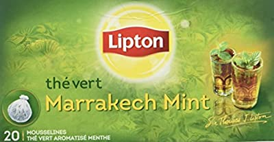 Lipton Thé Vert Marrakech Mint 20 Sachets 40 g
