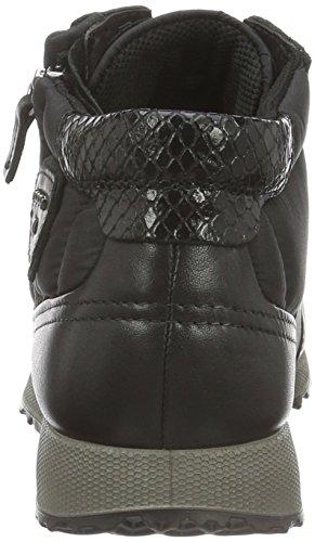ECCO Sneak Ladies, Scarpe da Ginnastica Alte Donna Nero (BLACK/BLACK-BLACK/BLACK/BLACK50118)