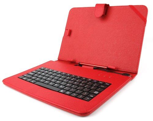 duragadget tastiera  DURAGADGET Custodia/Tastiera Rossa Per Tablet Di 10.1