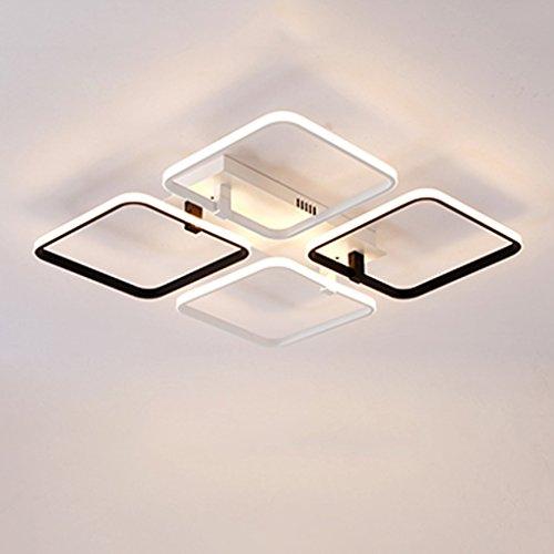 Square Wärmer (Moderne LED Deckenleuchte Square Wohnzimmer Wärmer Schlafzimmer Lichter Projekt Lampe Einfache Beleuchtung Fixtures)