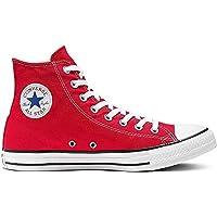 Converse Chuck Taylor All Star Hi-top, Unisex Adults' Hi-Top Sneakers, Red, 9.5 UK (43 EU) (M9621-600-9.5 M US)